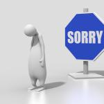 SorryとApologizeの違いを知っていますか?違いを理解して正しくSorryを使おう。